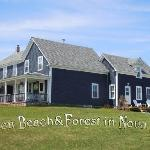 Blueberry Bay - Bed and Breakfast / Inn / Lodge (B&B), right at the beach in Liverpool, Nova Sco