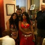 Belly Dancers performs at the Hemingway Inn