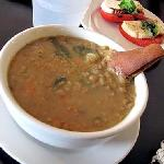 Superb lentil soup