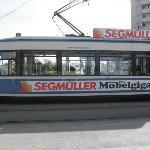 No. 19 efficient 10 minute tram to Marienplatz