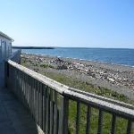 Pavillon sur mer