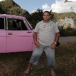 Pink car of Yerandy (Tito)