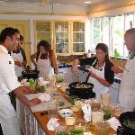The Ojai Culinary School at the Lavender Inn has reguarly scheduled and private group, hands-on