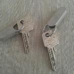 Our keys.