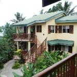 vue facade des suites lagune