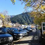 Literally walk out of units and you are right in the heart of Queenstown itself (and no hill cli