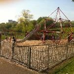 childrens park across from Lochend Apartments