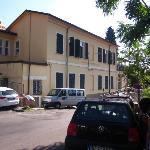 Hostel, von Aussen