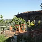 Patio- PERFECT for an evening dinner, reading or glass of wine!
