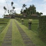 Villa Kaba Kaba and driveway