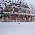 Colby House at Christmas