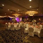 The ballroom at my wedding