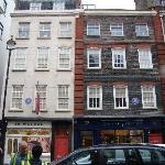 Handel House & Jimi Hendrix House side by side
