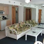 #905 Banyan Suite, Living and Kitchenette