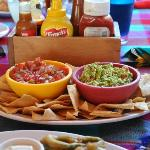 The best salsa and guacamole