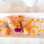 DesBarres Manor Inn Seafood Dinner