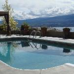 View of Okanagan Lake and Mountain