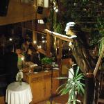 Una vista al interior del Restaurante.