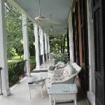 view of the wrap around porch