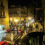 Bustling Palermo from our balcony