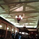 Beautiful roof on the Café de la Paz-Cusco