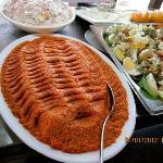 appetizing buffet