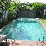 Our own private pool