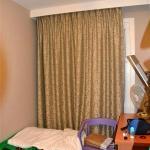 Zimmer (bereits mit meiner neuen Bettwäsche (grün))