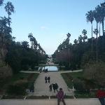 Visa at the French garden, Le Jardin d'Eassai du Hamma, Algiers, Algeria