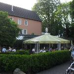 Good location to socialise and experience German cuisine