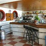 Die Bar im Speisesaal