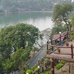 The magnificent lake Bhimtal