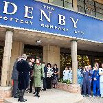 HRH Princess Anne visited Denby in 2011