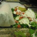 Gyro & Salad Platter