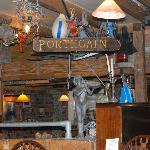 view in restaurant