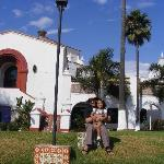 Mi esposo y mi hija en el Hotel Riviera