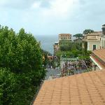Tasso Square down to the bay of Naples.
