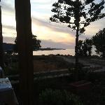 From Creta restaurant at night