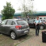 Dejando el Citroen C3 en Sixt en el Aeropuerto