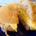 Best breakfast sandwich -- yum!