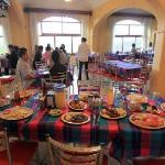 Super comida en el Restaurant de la Sierra