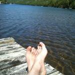il fait bon relaxer sur les quais