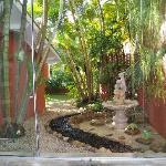 Uno de los Jardines internos del Hotel