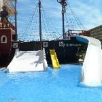 Pirate ship slides