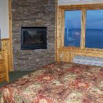 F401 fireplace/view