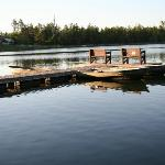 Dock for the Shores cabin