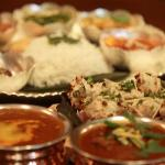 Extraordinary North Indian Thali