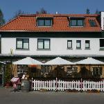 Omas Küche mit überdachter und beheizter Terrasse in Binz