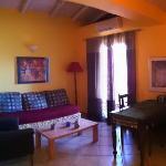 Living room superior suite