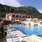 pool and bar/restaurant